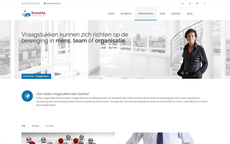 Ssentia ontwikkeling m int webdesign computerhulp - Ontwikkeling m ...